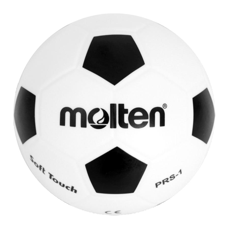 PRS-1 Piłka nożna MOLTEN softball gumowa